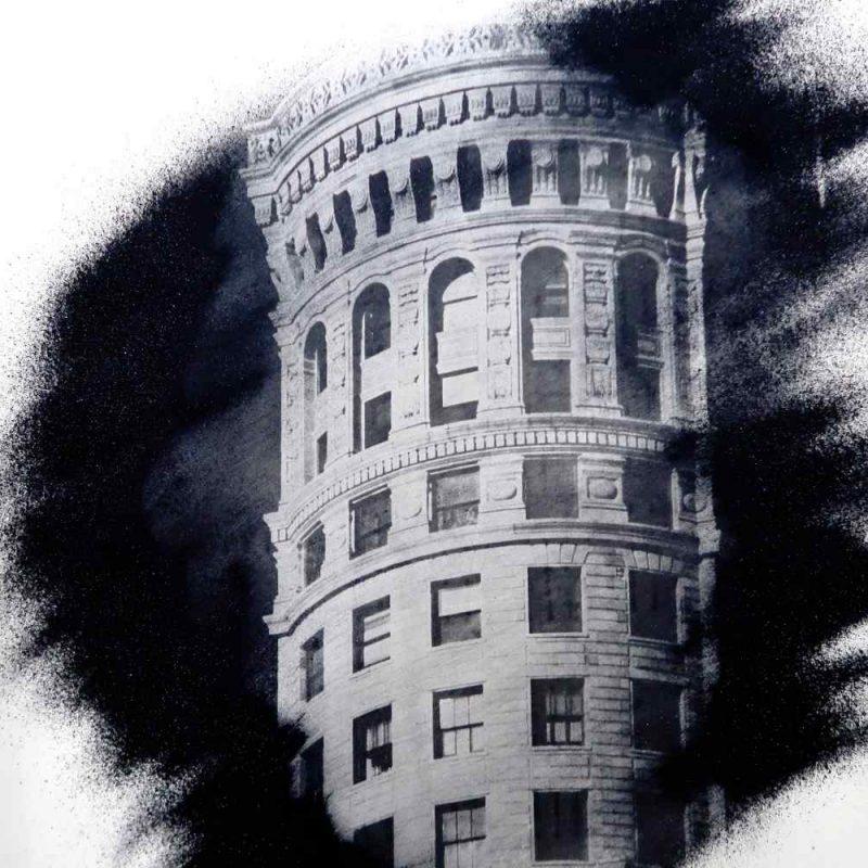 San Francisco Art photography. Hobart building.