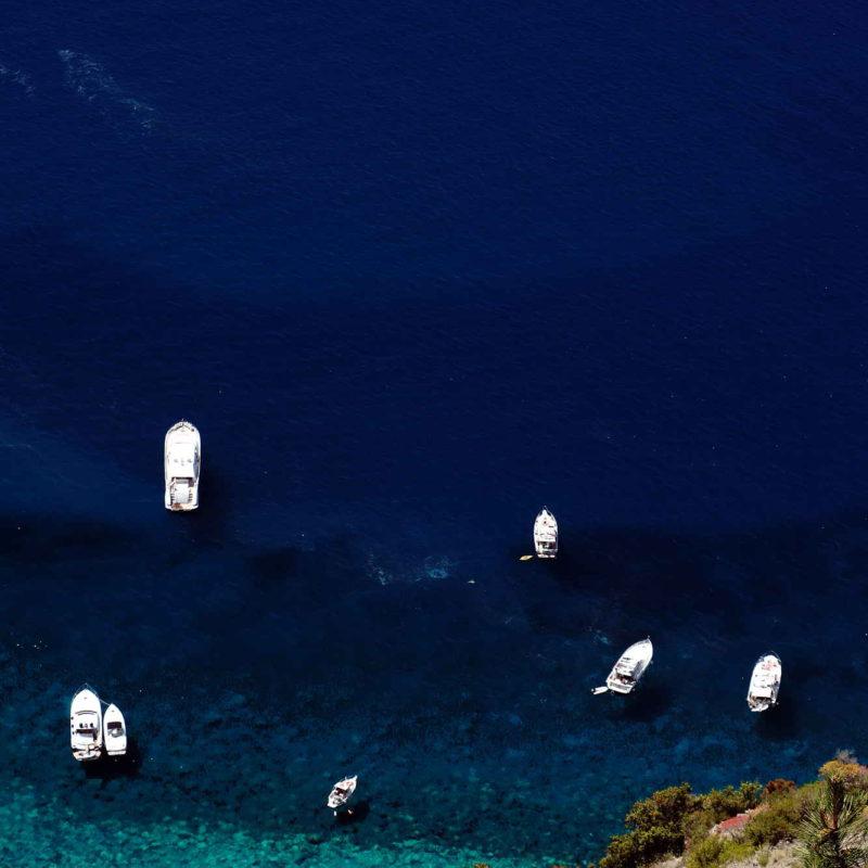 Mare delle Cinque Terre in Liguria (La Spezia)