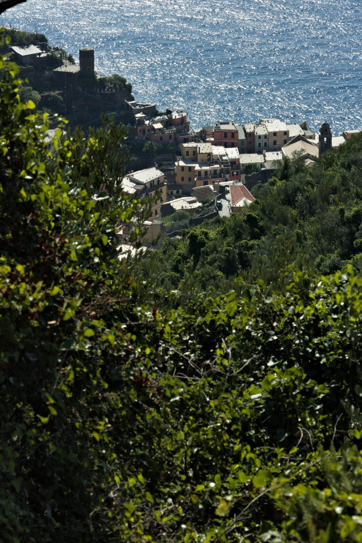Il paese di Vernazza, Cinque Terre in una fotografia di Paolo Grassi