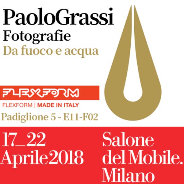 salone del mobile di Milano. Paolo Grassi spazio Flexform