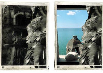 Realtà aumentata nella mostra di Paolo Grassi a Lerici.