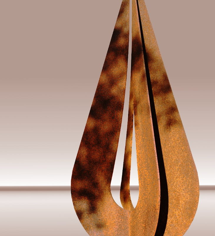 Sculpture representing the Photoart Limited edition logo