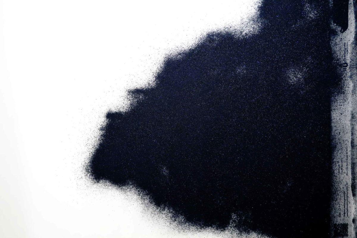Cinque terre art photography. Detail resino-pigmentype