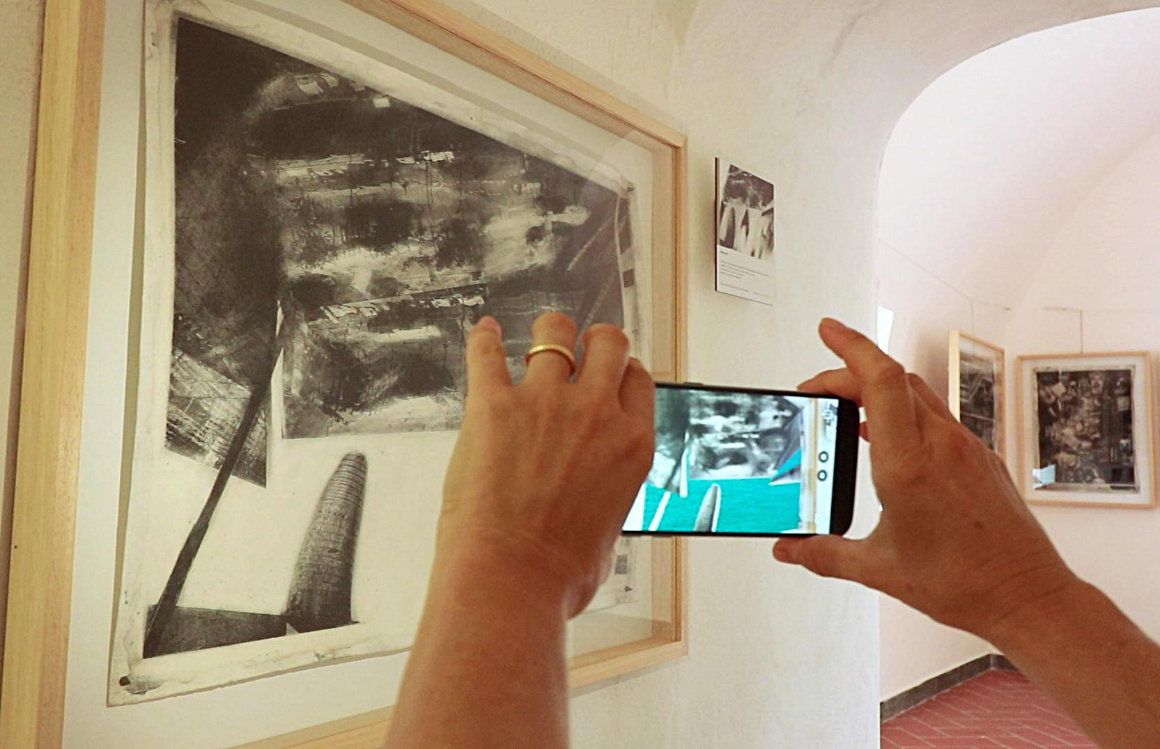 Virtual tour della mostra a San Terenzo